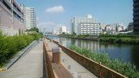 小名木川橋から