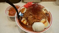 焦がし味噌卵麺