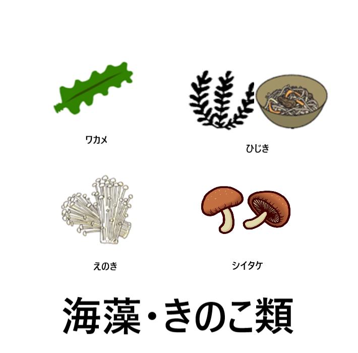 海藻・きのこ
